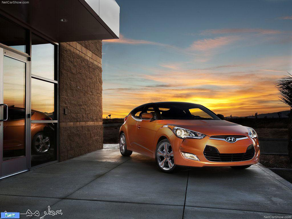2012 Hyundai Veloster Pictures.